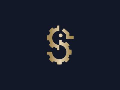 Golden Seahorse Logo