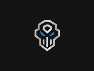 Skull Technology Logo