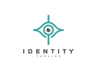 Ophthalmology Clinic Logo medical magnifier clinic eye doctor modern company brand logo company branding vector branding logo design