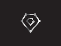 Diamond Letter C Tech Logo