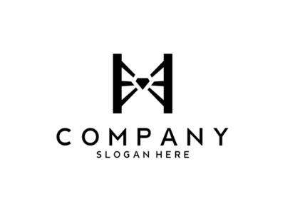 Diamond Bridge Logo company brand logo company branding vector logo design branding