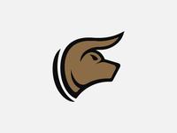 Bull Bear Head Logo