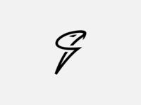 Snake Head Letter S Logo