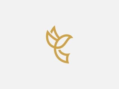Bird Letter C Logo