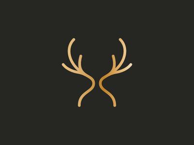 Romantic Deer Logo