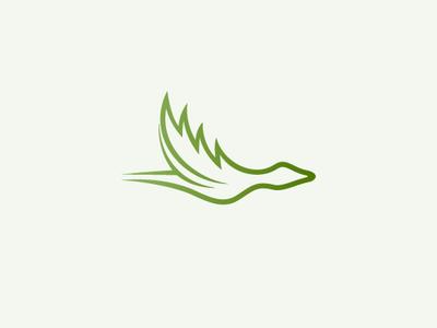 Hemp Flying Duck Logo