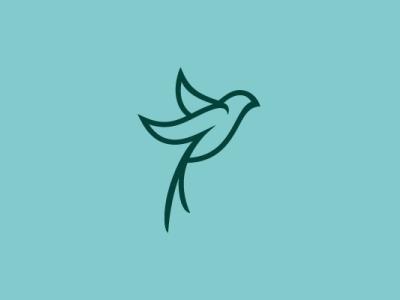 Artistic Swallow Logo