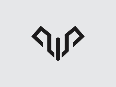 Ram Letter W Logo