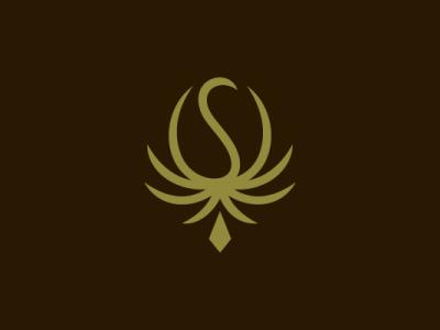 Peacock Cannabis Coffee Logo