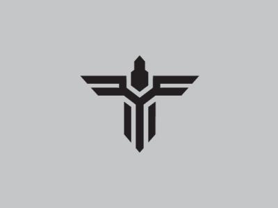 Bird Tech Letter T Logo