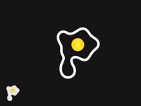 P Egg Logo
