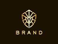 Supreme Lion Shield Logo