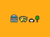 Mini Airport Icons