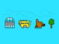 Mini Airport Icons (revised)