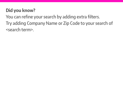 Did you know? low-fidelity typography help search