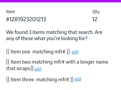 Search results - lowfi inline. forms cart search lowfi