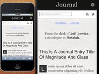 Journal — Take Two