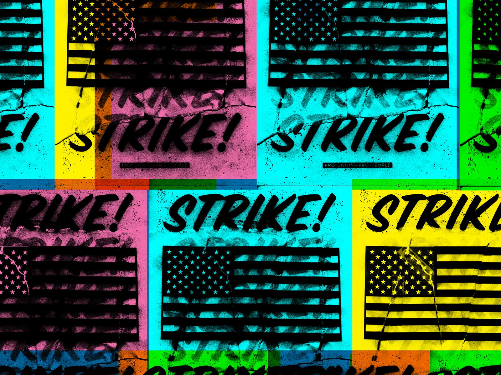 Jkdc strikestrikestrike poster