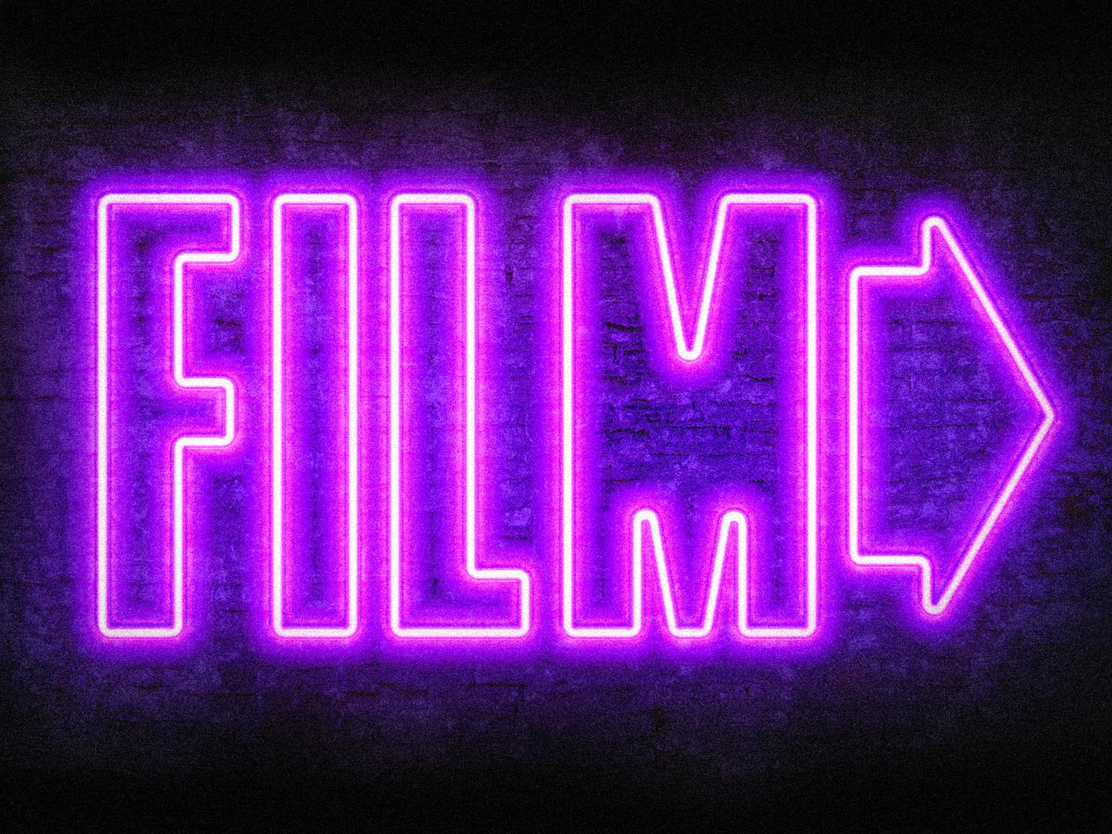 Film neonsign large