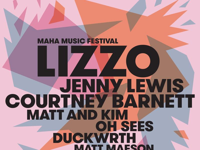 LIZZO!!! lizzo omaha vector nonprofit graphic design screenprint poster