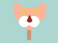 Pink Panther Popsicle