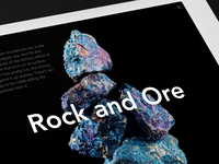 Rock and Ore
