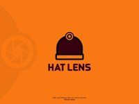 Daily Logo Challenge Day 40 Hat Lens