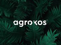 """"""" agrokos """"  Logo"""