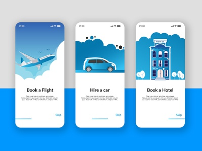 "Travelling App Ui "" HERA "" websitedesign airplane hotel car travel ux identity design logo a day logo design branding uidesign ui design uiux ui"