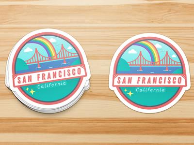 San Francisco Sticker Design