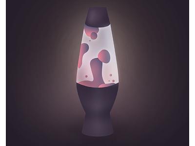 Lava Lamp designer vector graphics vector lava lamp illustrator illustration graphic design design