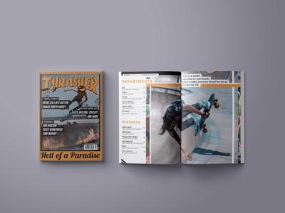 Thrasher Magazine Redesign