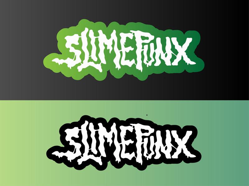 Slimepunks Logo design graphic design brand identity brand custom design typography type logo branding