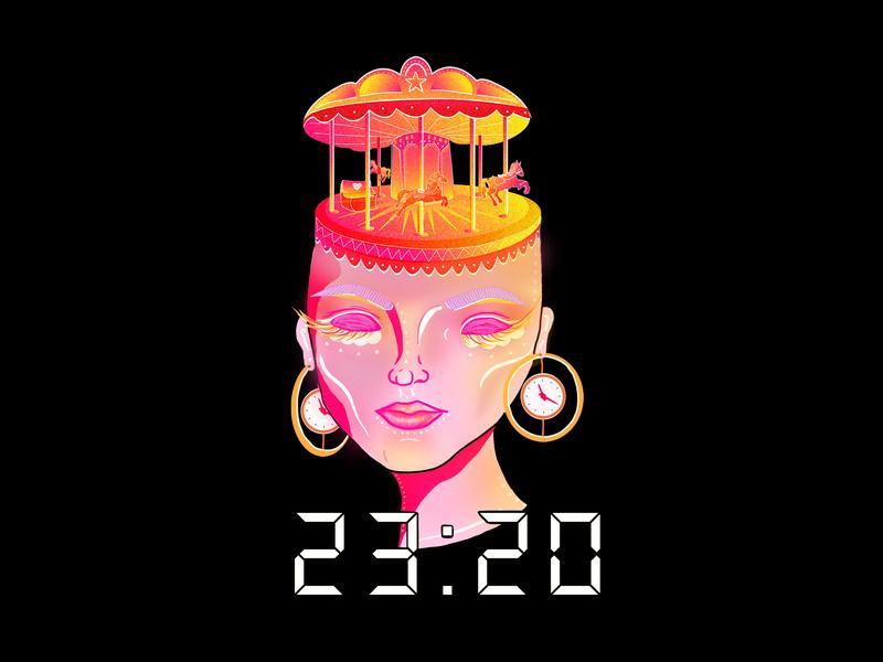 """23:20"" Single Artwork song art graphic design illustrator photoshop illustration design"