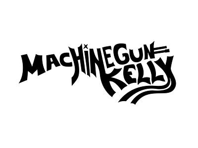 Machine Gun Kelly Logo logo branding illustrator illustration design graphic design vector art machinegunkelly vector mgk