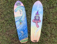 Skateboard Deck Paintings