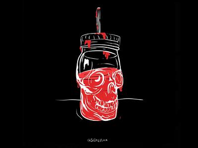 Bloodsucker wacom illustrator graphic design design illustration