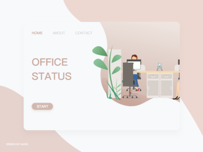 Office Status 设计 插图