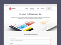 Grabyo Features Page