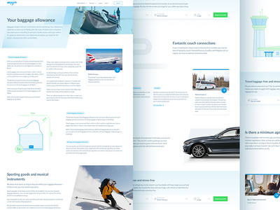 SEO pages airportr template page seo