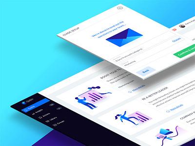Feedback Dashboard questback qubie blue webapp dashboard