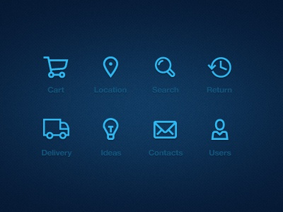 Outline Iconset