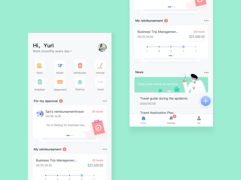 workspace design ui illustration app