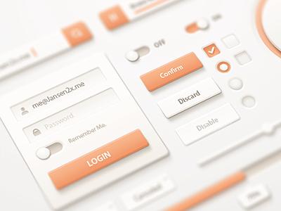 loQuat UI-Kit loquat ui kit orange