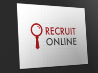 Recruit logo Design