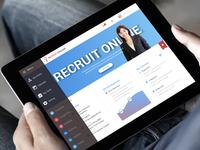 Web Application for Recruit portal