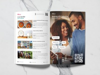 City Guide magazine design