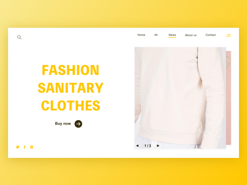clothes web 品牌 应用 设计 ui ux