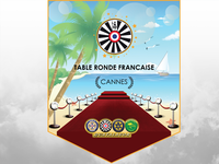 Table Ronde Fanion for Cannes