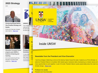 Inside UNSW - Newsletter